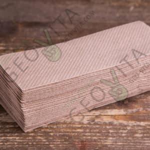 Бумажная салфетка 32*23 1 слойная крафт ПРЕМИУМ © GEOVITA - Одноразовая посуда от производителя!