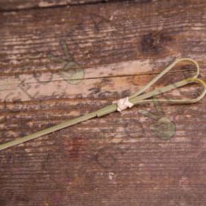 Пика «сердца» бамбук © GEOVITA - Одноразовая посуда от производителя!