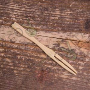 Вилочка коктейльная бамбуковая © GEOVITA - Одноразовая посуда от производителя!