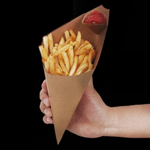Упаковка для картошки фри