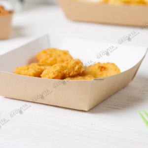 Лоток квадратный © GEOVITA - Одноразовая посуда от производителя!