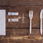 Набор одноразовых приборов 4/2 мал. «вилка/нож» + соль/перец