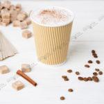 Стакан одноразовый гофрированный для кофе 360 мл.