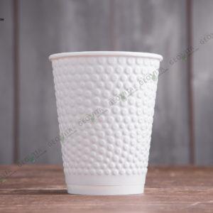 Бумажный стакан Huhtamaki Bubbles 300 мл. © GEOVITA - Одноразовая посуда от производителя!