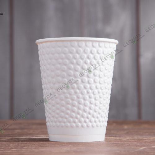 Бумажный стакан Huhtamaki Bubbles 300 мл.
