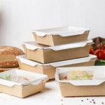 Картонные салатники собственного производства © GEOVITA - Одноразовая посуда от производителя!