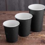 Стаканы черного цвета! © GEOVITA - Одноразовая посуда от производителя!