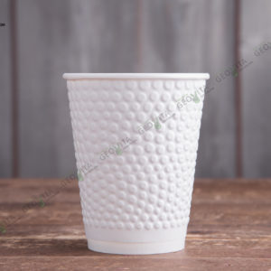 Бумажный стакан Huhtamaki Bubbles 200 мл. © GEOVITA - Одноразовая посуда от производителя!
