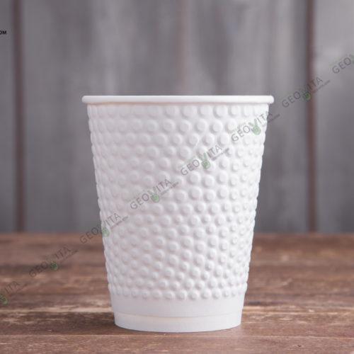 Бумажный стакан Huhtamaki Bubbles 200 мл.