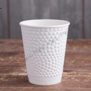 Бумажный стакан Huhtamaki Bubbles 400 мл. © GEOVITA - Одноразовая посуда от производителя!
