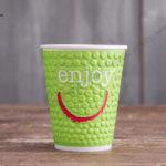 Бумажный стакан Huhtamaki ENJOY 300 мл.