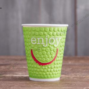 Бумажный стакан Huhtamaki ENJOY 300 мл. © GEOVITA - Одноразовая посуда от производителя!