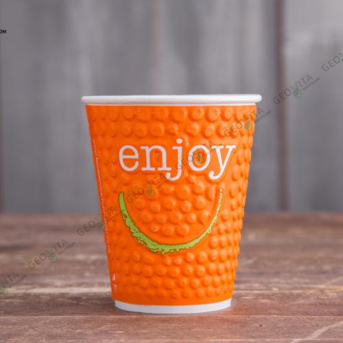 Бумажный стакан Huhtamaki ENJOY 400 мл.