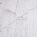 Пластиковая ложка прозрачная