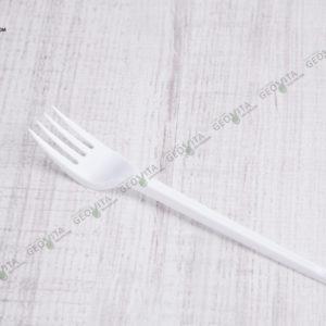 Пластиковая вилка 165 мм эконом © GEOVITA - Одноразовая посуда от производителя!