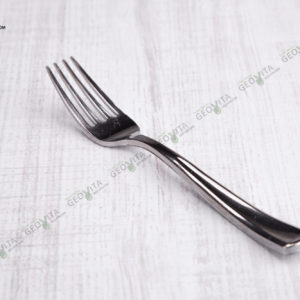 Пластиковая вилка металлик © GEOVITA - Одноразовая посуда от производителя!