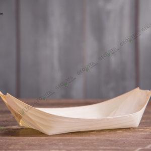 Деревянная лодочка 240 мм. © GEOVITA - Одноразовая посуда от производителя!