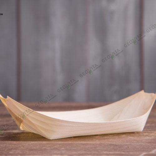 Деревянная лодочка 240 мм.