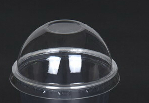 Крышка купольная сплошная © GEOVITA - Одноразовая посуда от производителя!