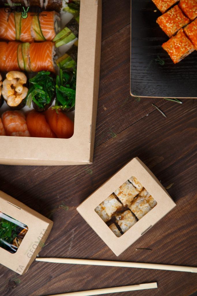 Китайское изобретение «суши». © GEOVITA - Одноразовая посуда от производителя!
