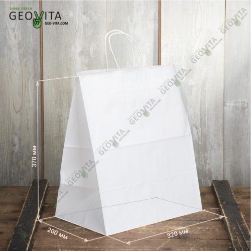 Пакет бумажный 320*200*370