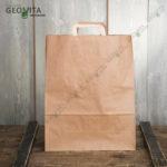 Бумажный пакет с пл. ручками 350*150*450