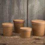 Новые размеры супниц. © GEOVITA - Одноразовая посуда от производителя!