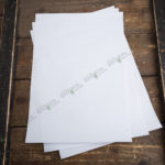 Плейсмат бумажный белый А3