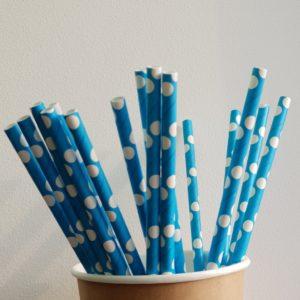 Трубочка одноразовая из бумаги © GEOVITA - Одноразовая посуда от производителя!