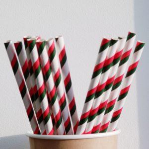 Бумажная трубочка «Болгария» © GEOVITA - Одноразовая посуда от производителя!