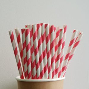 Одноразовая трубочка «Коралл» © GEOVITA - Одноразовая посуда от производителя!