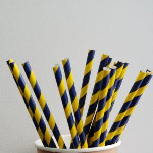 Бумажная трубочка «Швеция» © GEOVITA - Одноразовая посуда от производителя!