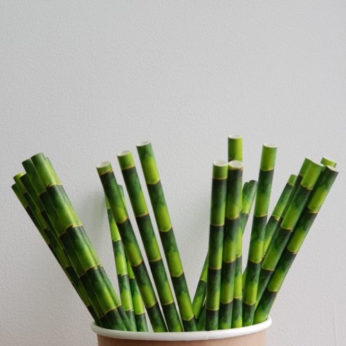 Бумажная трубочка «сахарный тростник»