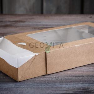 Пенал 1000 мл. © GEOVITA - Одноразовая посуда от производителя!