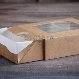 Пенал 300 мл. © GEOVITA - Одноразовая посуда от производителя!