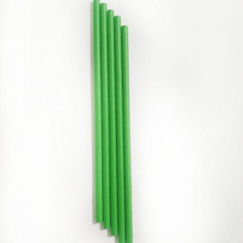 Бумажная одноразовая трубочка