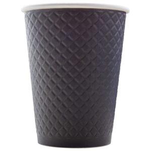 Бумажный стакан для кофе с конгревом © GEOVITA - Одноразовая посуда от производителя!
