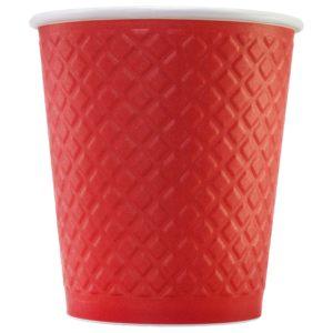 Стаканчик для кофе с конгревом © GEOVITA - Одноразовая посуда от производителя!