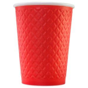 Стакан для кофе с конгревом © GEOVITA - Одноразовая посуда от производителя!