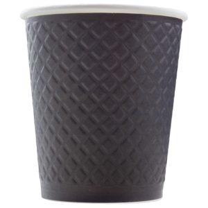 Бумажный стакан с конгревом 250 мл. © GEOVITA - Одноразовая посуда от производителя!