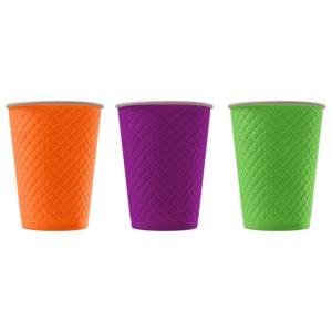 Бумажный стакан с конгревом © GEOVITA - Одноразовая посуда от производителя!