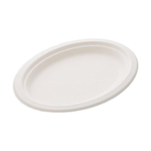 Тарелка большая овальная