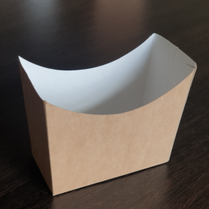 Упаковка для снэков самосборная © GEOVITA - Одноразовая посуда от производителя!