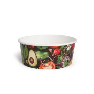 Салатник картонный © GEOVITA - Одноразовая посуда от производителя!