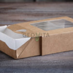 3 новые коробочки GEOVITA! © GEOVITA - Одноразовая посуда от производителя!