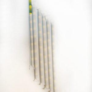 Бумажная трубочка бамбук в индивидуальной упаковке © GEOVITA - Одноразовая посуда от производителя!