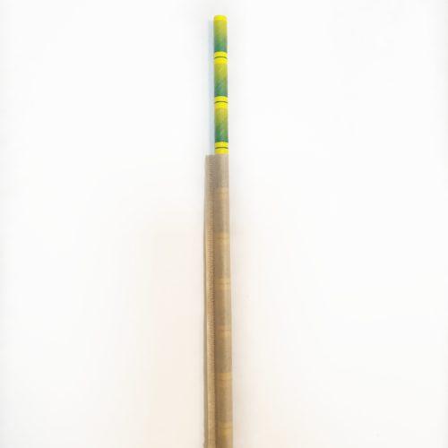 Бумажная трубочка бамбук в индивидуальной упаковке крафт