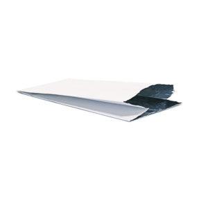 Термопакет бумажный белый © GEOVITA - Одноразовая посуда от производителя!