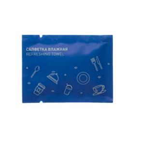 освежающая влажная салфетка © GEOVITA - Одноразовая посуда от производителя!
