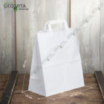 Белый бумажный пакет
